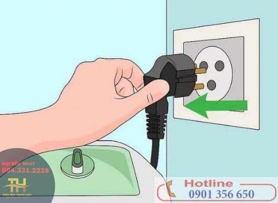 Cách Sửa Máy Giặt Đang Giặt Bị Ngừng