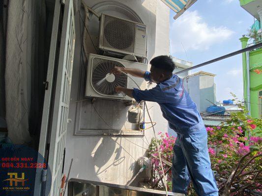 Sửa máy lạnh đường Nguyễn Văn Lượng Gò Vấp