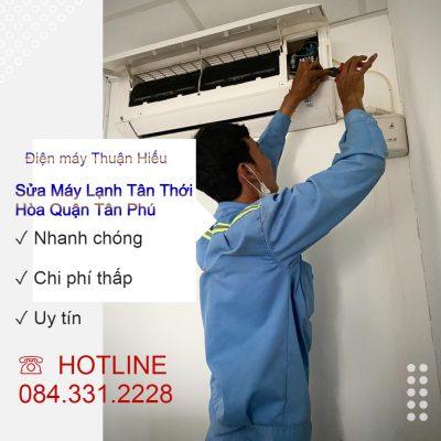 Sửa máy lạnh Tân Thới Hòa quận Tân Phú