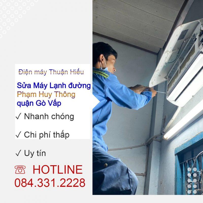 Sửa Máy Lạnh Đường Phạm Huy Thông Quận Gò Vấp