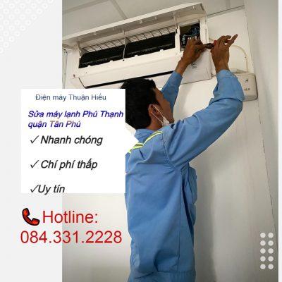 Sửa máy lạnh Phú Thạnh quận Tân Phú