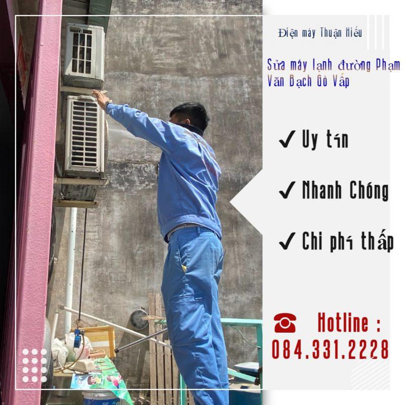 Sửa Máy Lạnh Đường Phạm Văn Bạch Gò Vấp