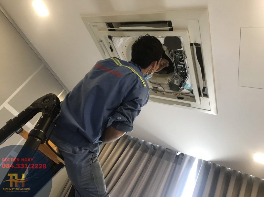 Sửa Máy Lạnh Phú Thuận Quận 7