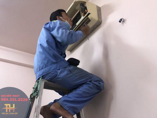 Sửa máy lạnh Tây Thạnh quận Tân Phú