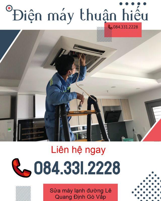 Sửa Máy Lạnh Đường Lê Quang Định Gò Vấp