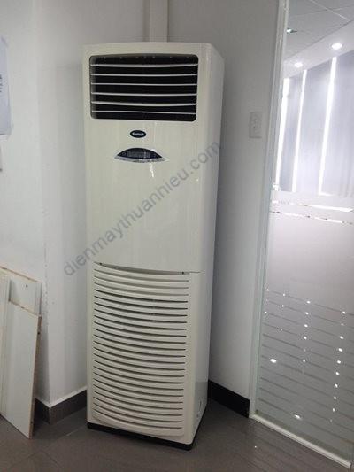 Máy Lạnh Tủ Đứng Cũ Media 5Hp