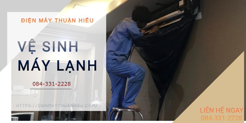 Vệ Sinh Máy Lạnh Đường Nguyễn Kiệm Quận Phú Nhuận