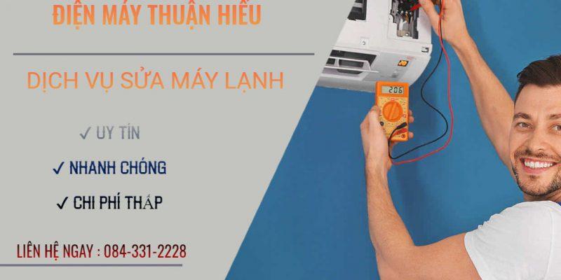Sửa máy lạnh đường Phan Đăng Lưu quận Phú Nhuận