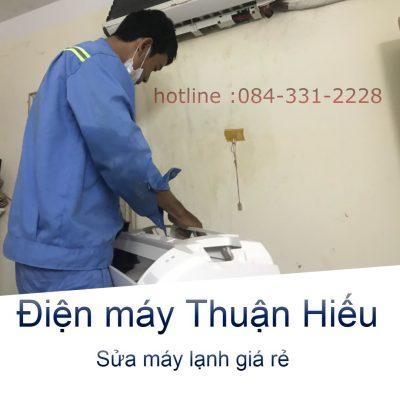 Sửa máy lạnh đường Trường Chinh quận Tân Phú