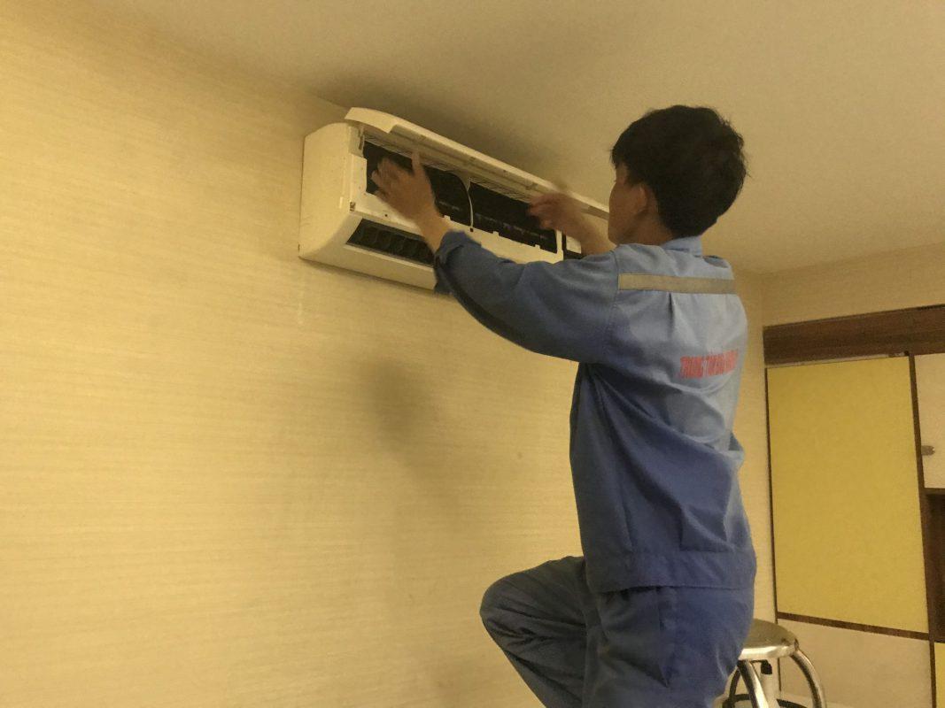 Sửa Máy Lạnh Đường Nguyễn Văn Trỗi Quận Phú Nhuận